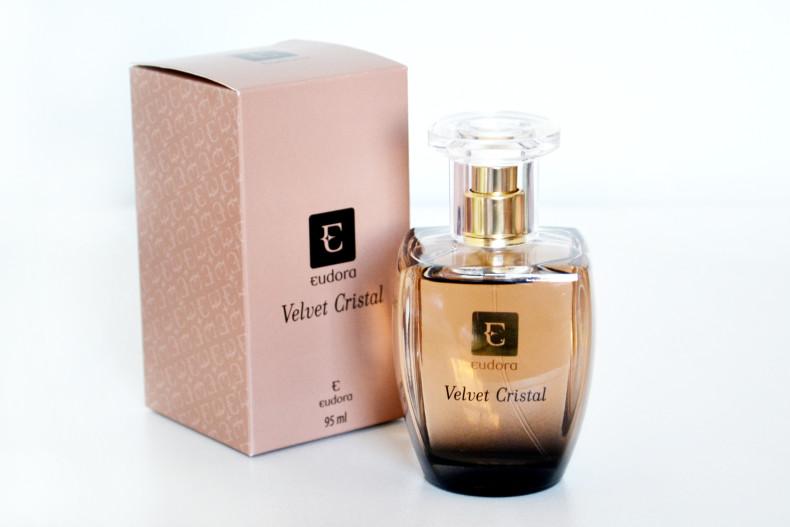 Deo Colônia Velvet Cristal Eudora - 95ml