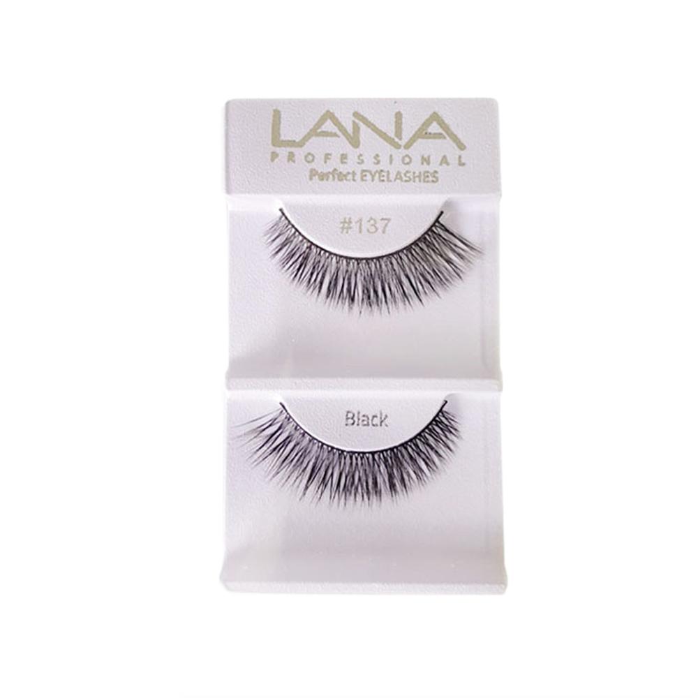 Lana Professional Cílios Postiços Nº137 Par - Black