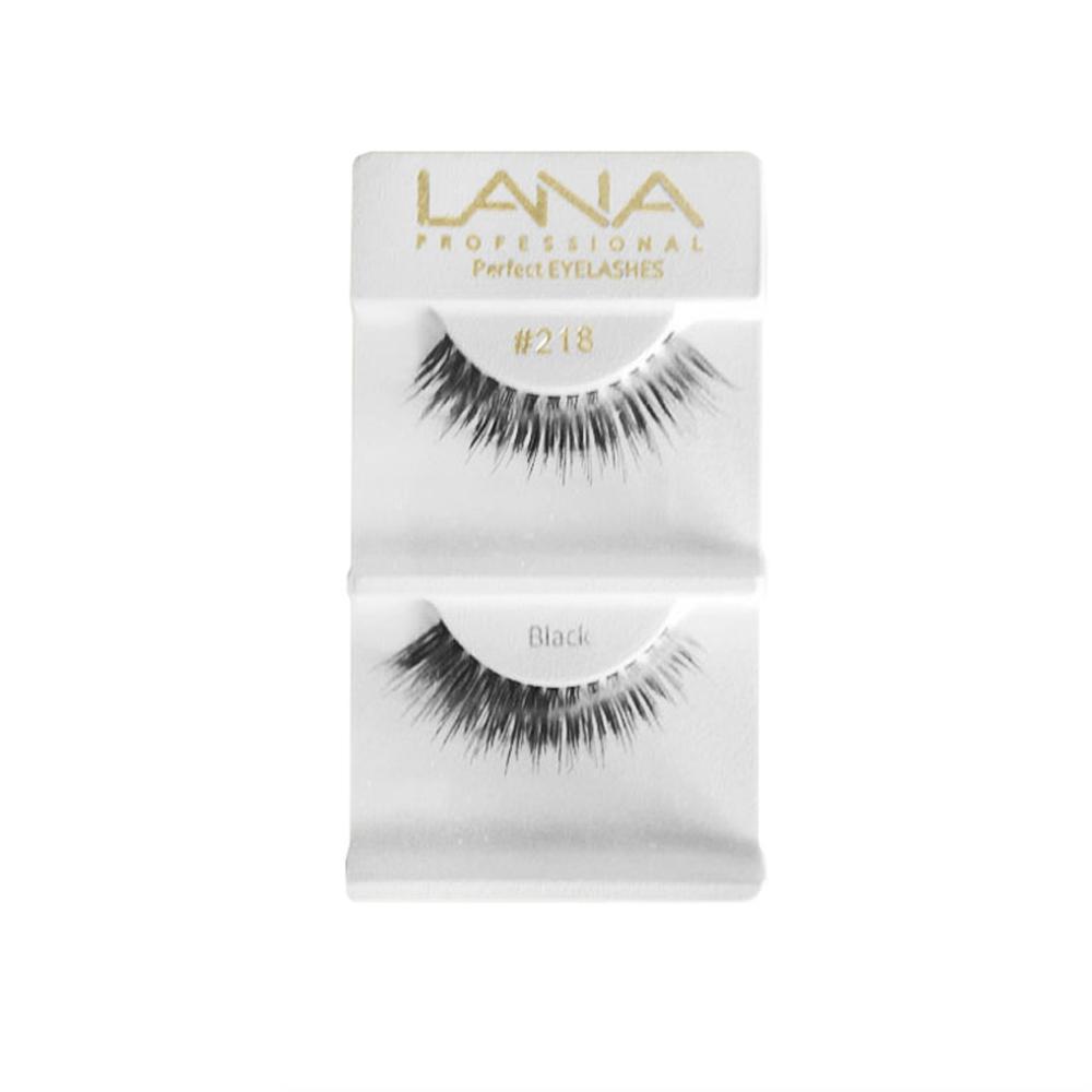 Lana Professional Cílios Postiços Par Nº218 Black