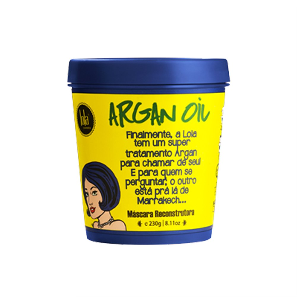 Lola Argan Oil/Pracaxi Máscara Reconstrutora 230g