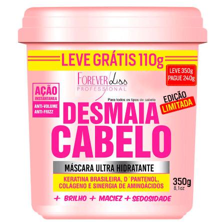 Máscara Capilar Hidratante Desmaia Cabelo Forever Liss - 350g