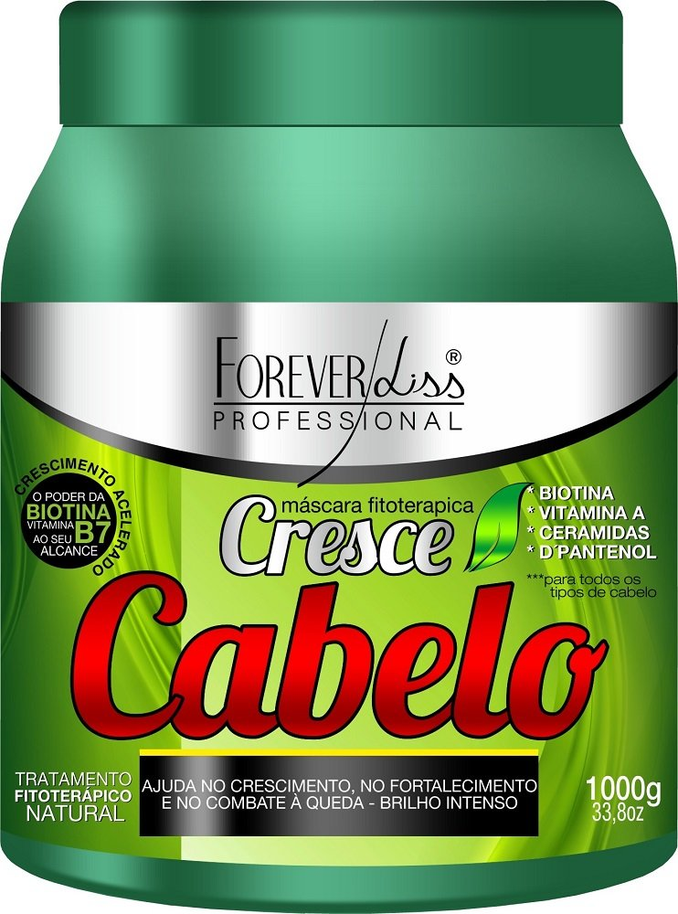 Máscara Capilar Cresce Cabelo Forever Liss - 1kg
