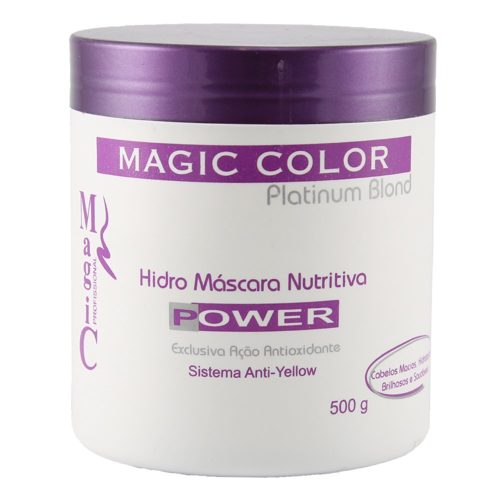 Magic Color Hidro Mascara Nutritiva Platinum Blond 500g