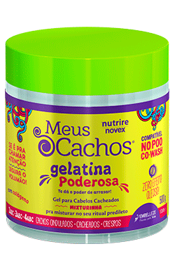 Gelatina Poderosa Nutrire Novex Gel Meus Cachos - 500g