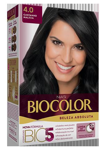 Tintura Biocolor Castanho Malícia 4.0