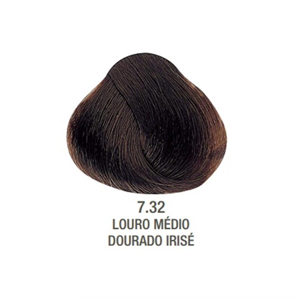 Tintura Creme Evolution Alfaparf 7.32 Louro Médio Dourado Irisé