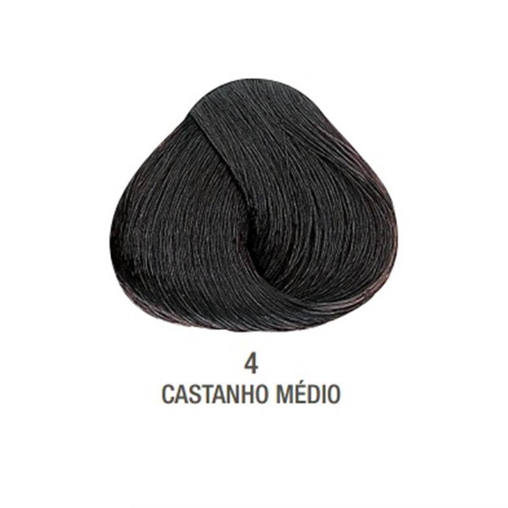 Tintura Creme Evolution Alfaparf Castanho Médio 4