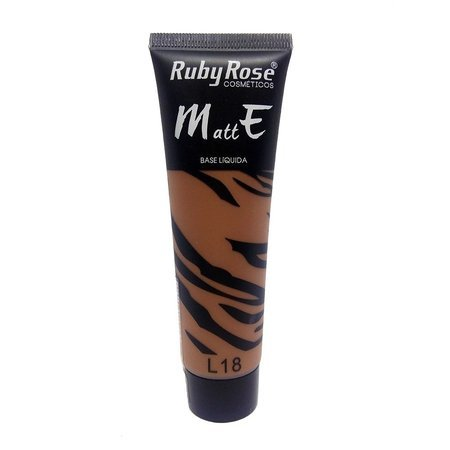 Ruby Rose Base Liquida Matte Cor-L18
