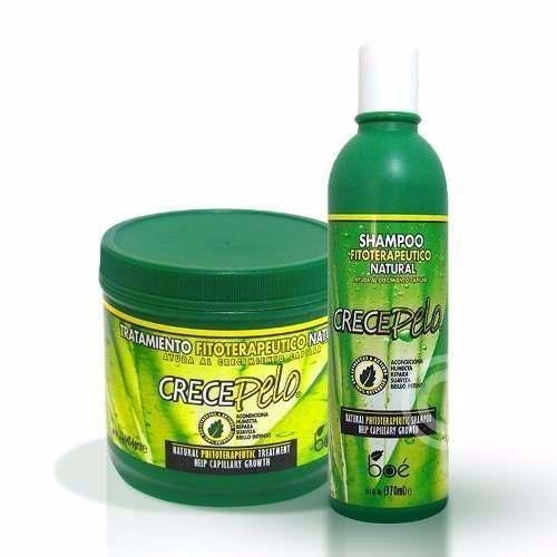 Boé Crece Pelo Kit Shampoo + Mascara 454g