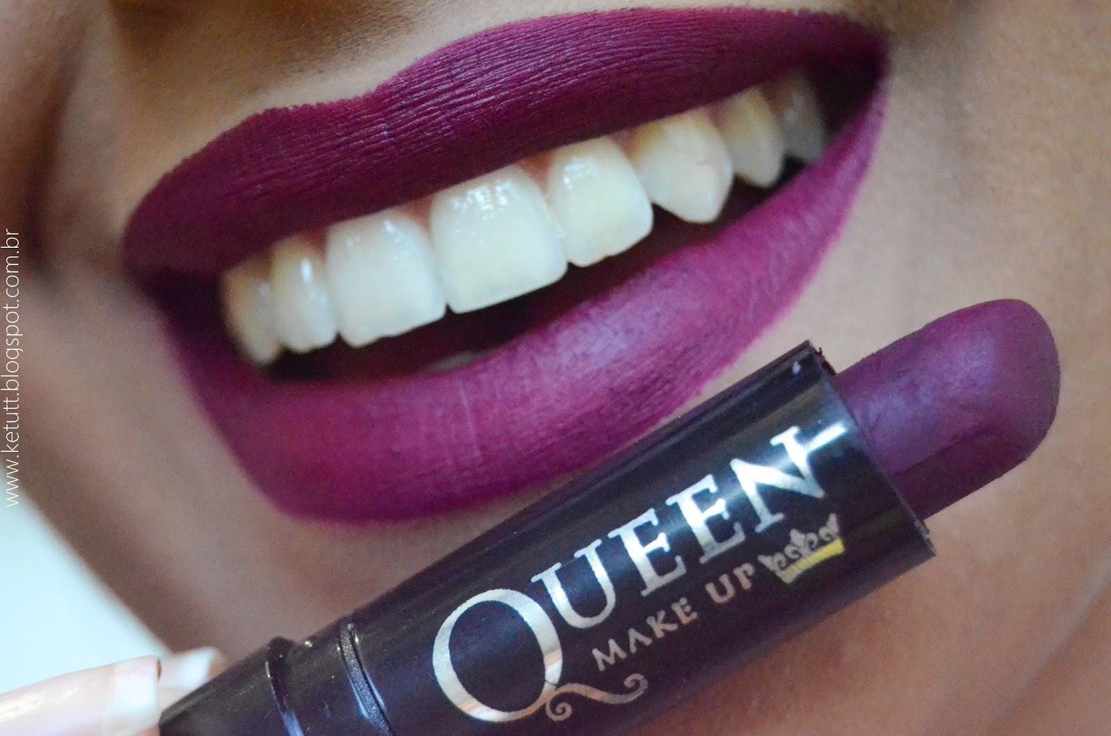 Batom Queen Matte Fosco 06