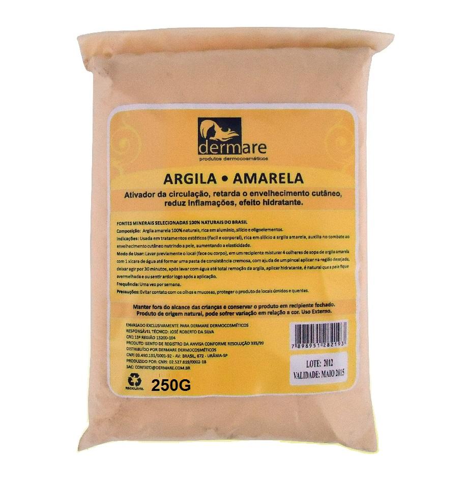 Argila Amarela Dermare 250g