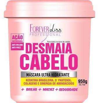 Máscara Ultra Hidratante Desmaia Cabelo Forever Liss 950g