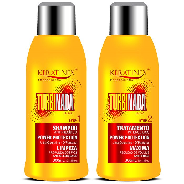 Kit Escova Progressiva Turbinada Keratinex - 2x300ml