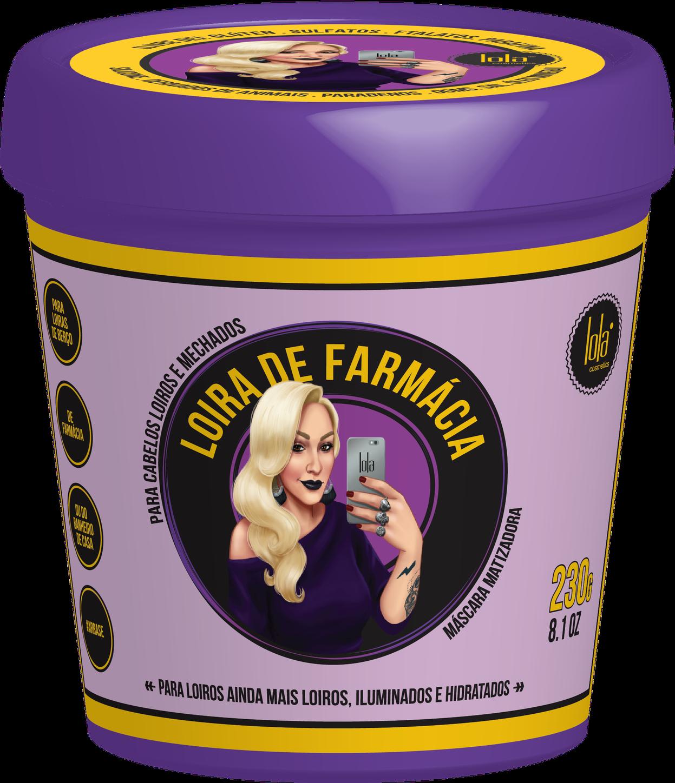 Lola Loira De Farmácia Máscara Matizadora Hidratante 230ml