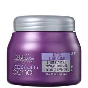 Mascara Matizadora Platinum Blond Forever Liss 250g