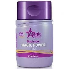 Mini Matizador Magic Power Efeito Pérola 100ml - Magic Color