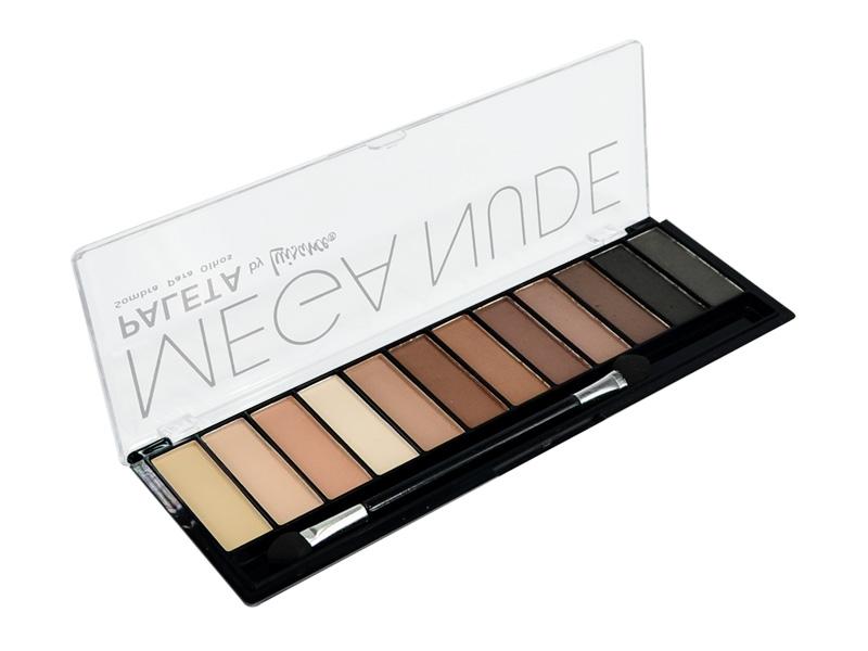 Paleta Mega Nude Luisance - 12 Cores Matte 18g - L689