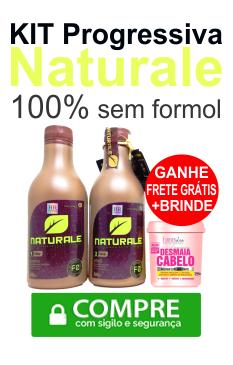 PROGRESSIVA NATURALE 100% SEM FORMOL