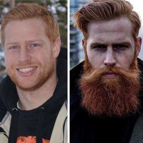 barba de respeito com garanhão nanovin a