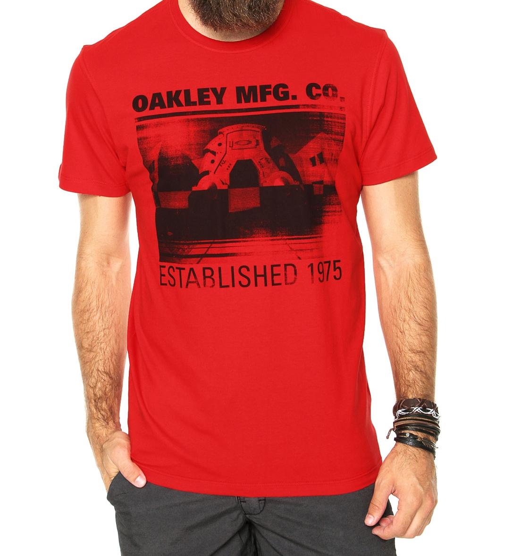 Camiseta Oakley Masculina no Atacado - CAMISETASDEMARCASJT a253cdb0406