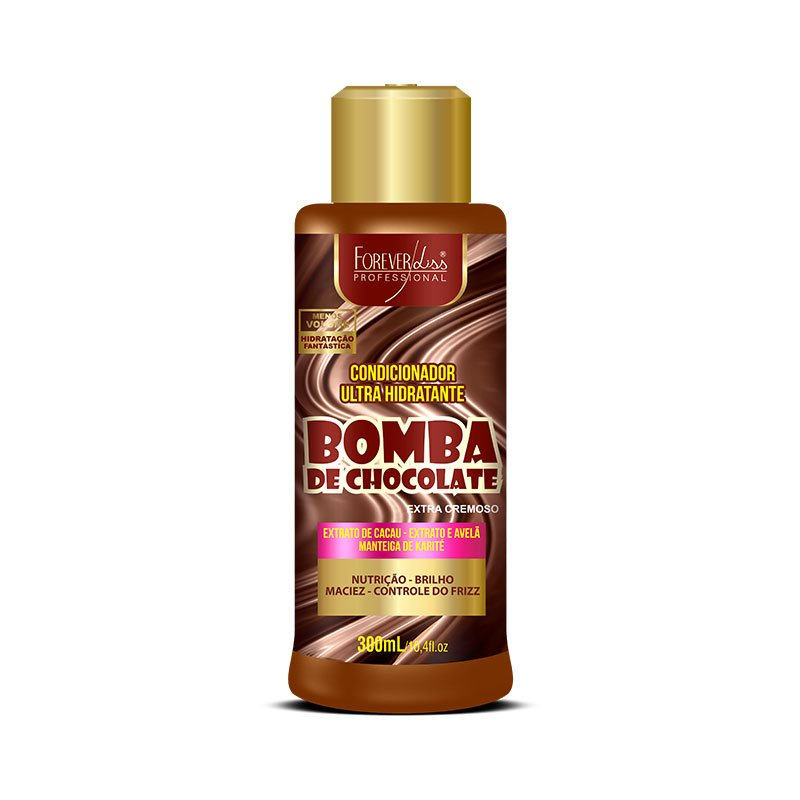Condicionador Bomba de Chocolate Forever Liss 300ml