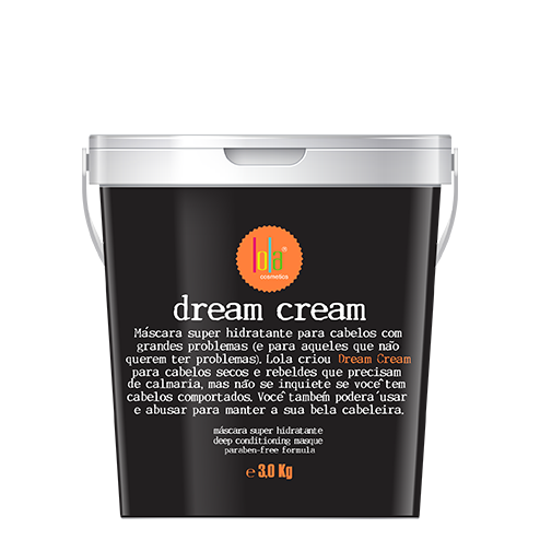 Dream Cream Máscara Super Hidratante Lola 3Kg