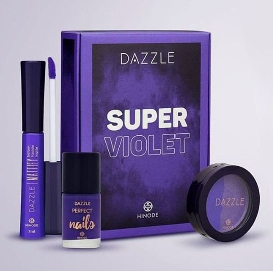 Kit Dazzle Super Violet Hinode