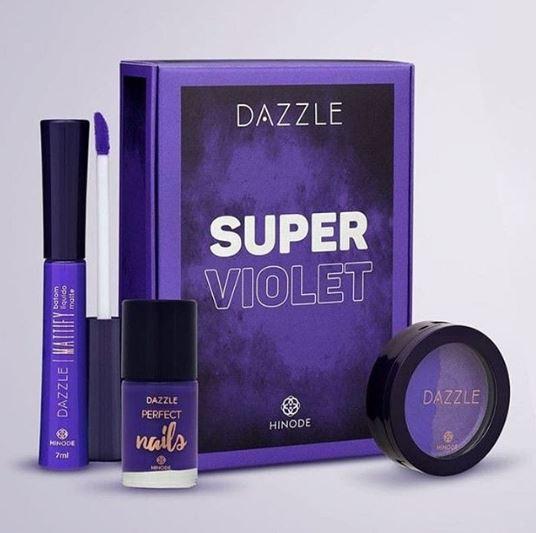 Kit Dazzle Super Violet Hinode