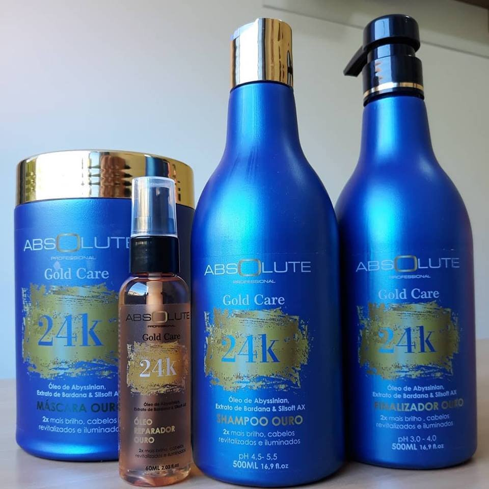 Kit 24K Absolute Cosméticos Profissional