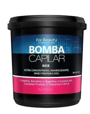 Máscara Bomba Capilar For Beauty 250gr