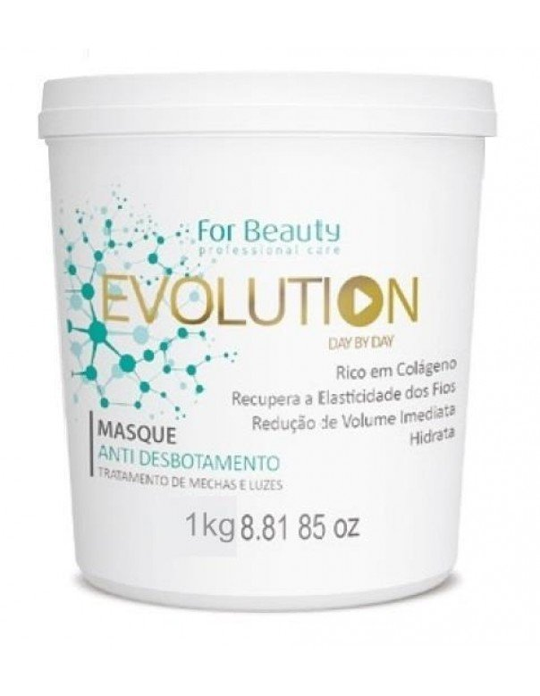 Máscara Evolution Anti Desbotamento  For Beauty 1Kg