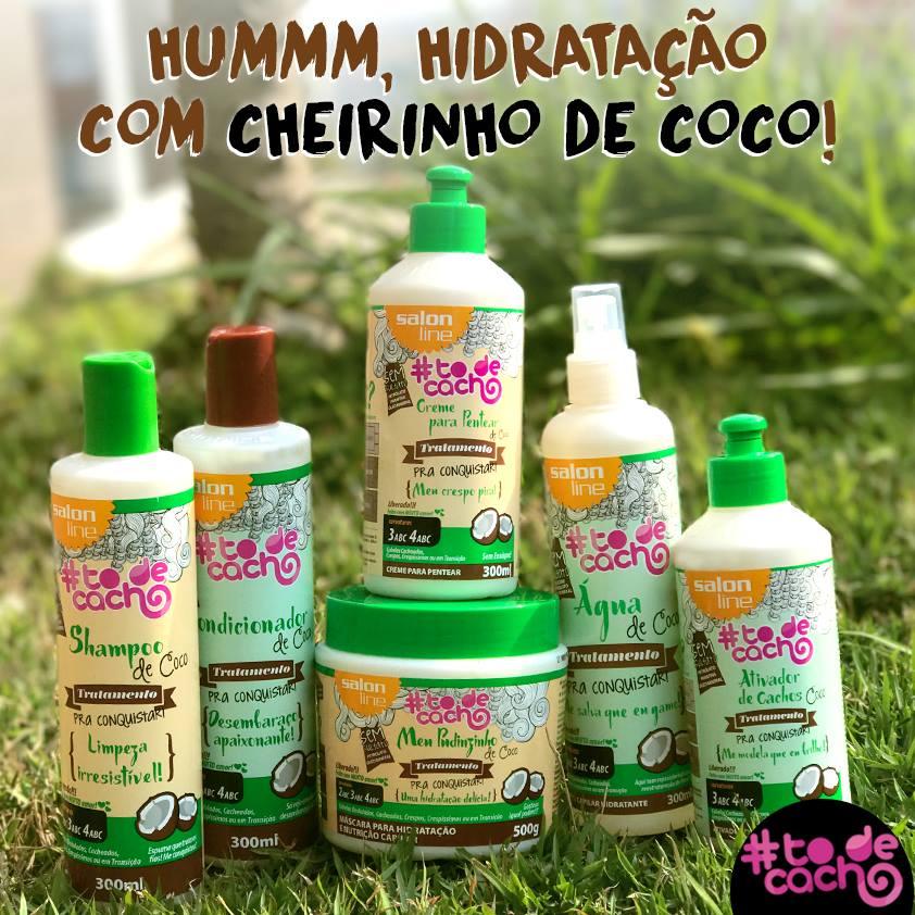 Kit de coco todecacho salon line com spray gua de coco for Salon de discussion coco