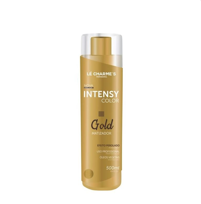 Matizador Gold Color Blond Platinado Le Charmes  500ml