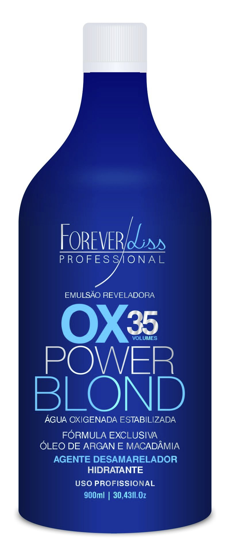 Power Blond Agua Oxigenada 35 Volumes 900ml Forever Liss