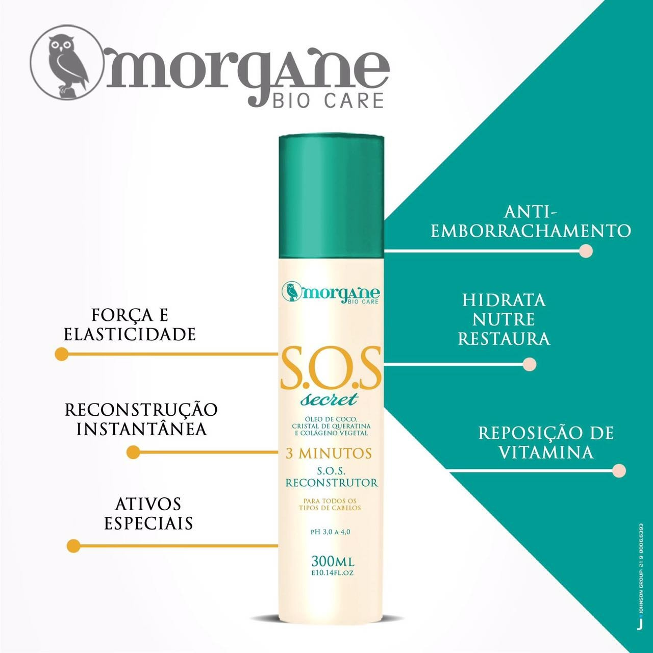 SOS Secret Reconstrutor Morgane Bio Care 300ml
