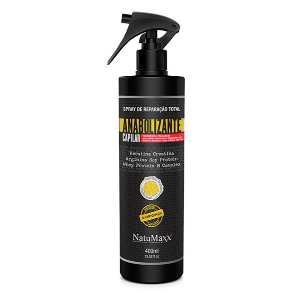 Spray Anabolizante Capilar Natumaxx 400ml