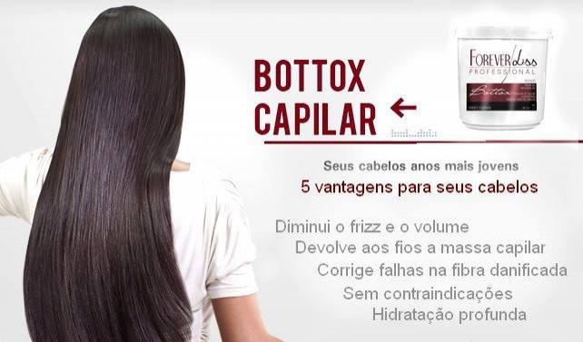 Btox Capilar Argan 1KG Forever Liss Btox 1 Kg