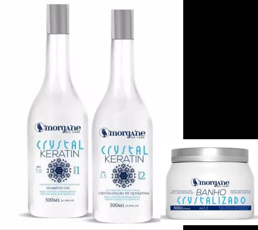 Kit Cristalização Morgane Bio Care