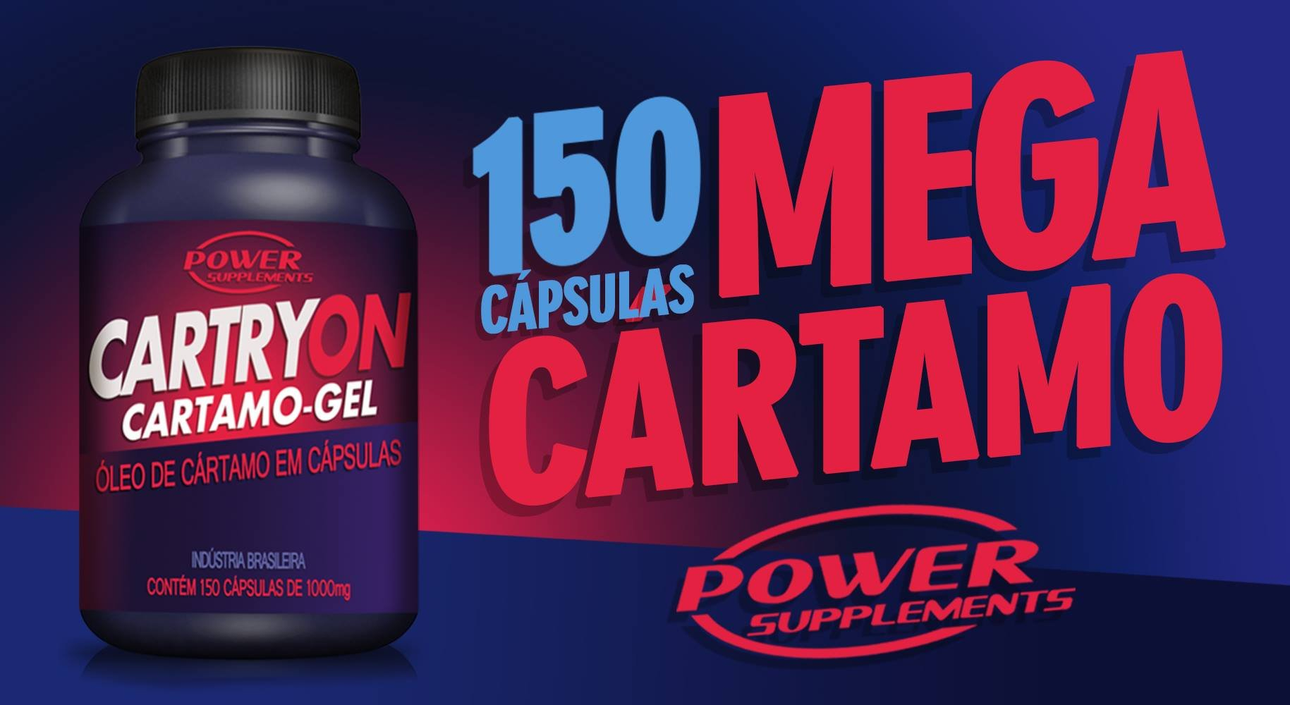 Cartryon - Óleo de Cártamo da Power Supplements