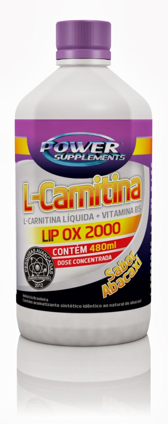 L-Carnitina Lip OX 2000 da Power Supplements