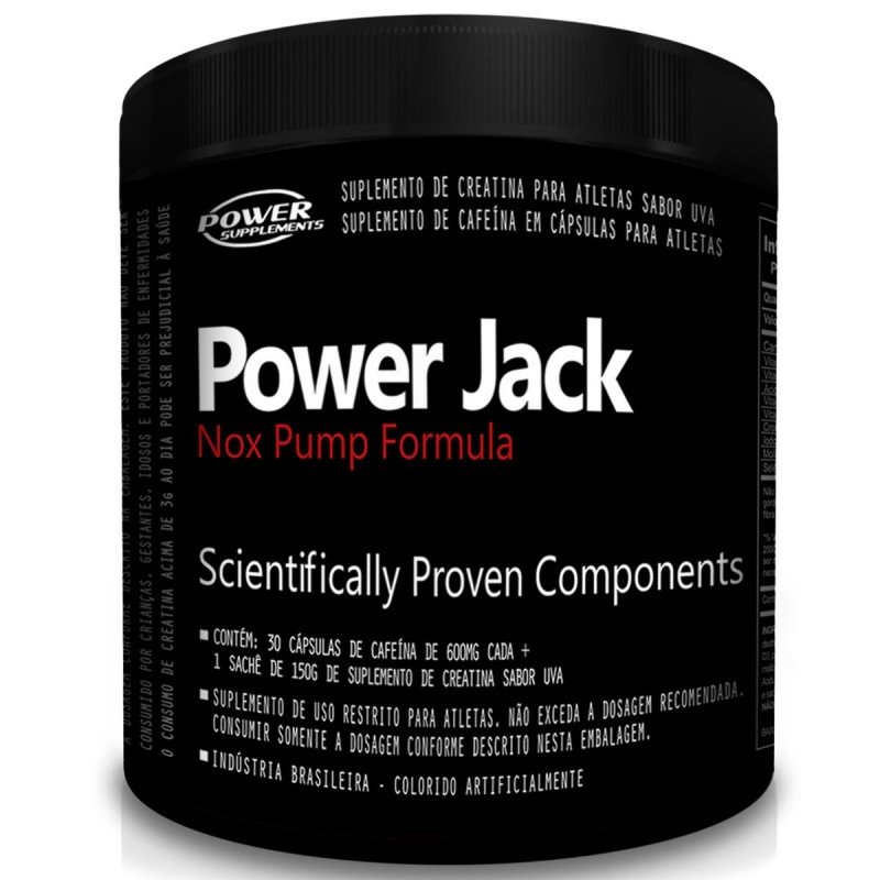 Power Jack Nox Pump da Power Supplements