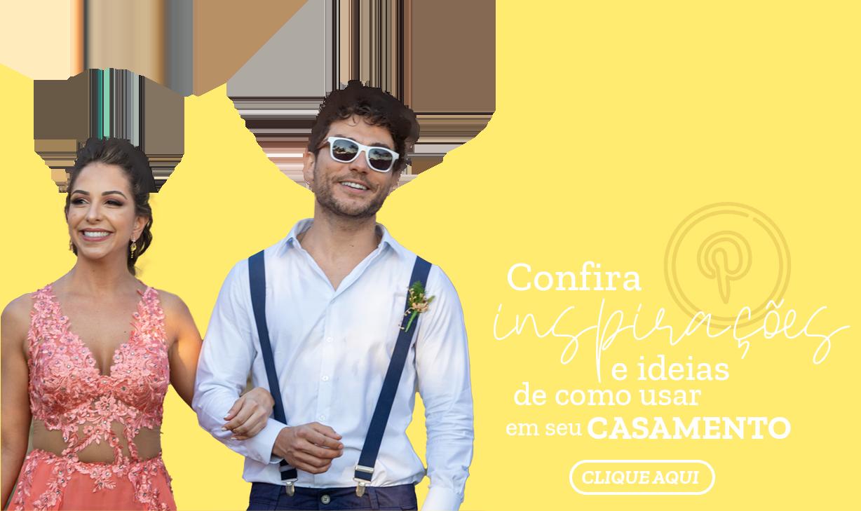 Inspirações para casamento com óculos personalizado
