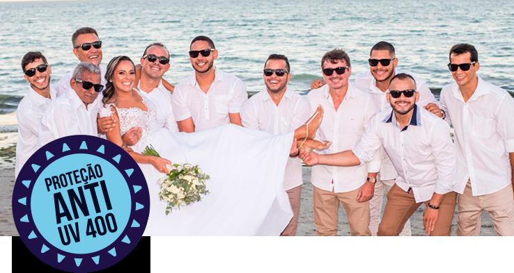 Óculos personalizados vão deixar sua festa de casamento inesquecível