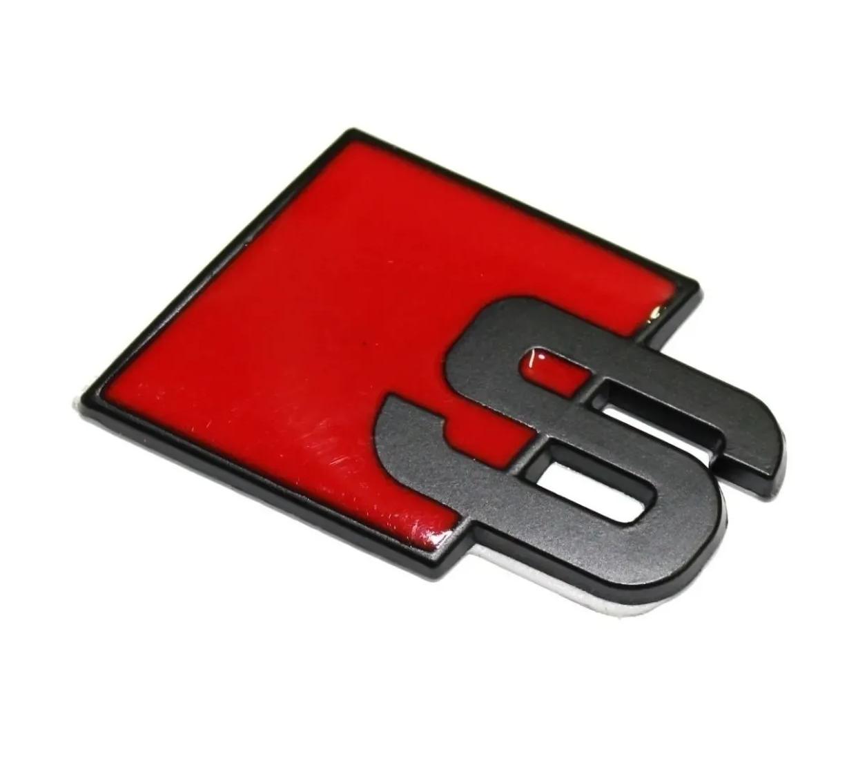 Acessório Emblema Audi S Line Sline S3 A3 A6 Q3 Q7 Tt A8 A4