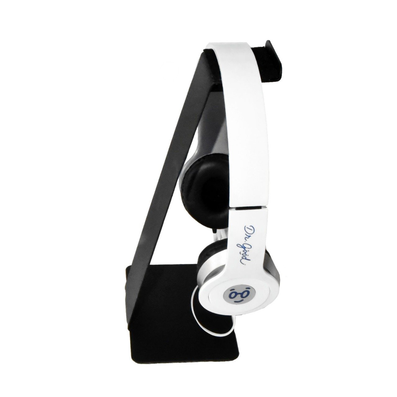 Suporte De Mesa Fone De Ouvido Headphone Headset Universal Gamer Preto