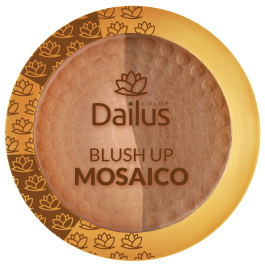 Blush Up Mosaico da Dailus Color - 4,5g - Bronze Divino