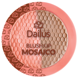 Blush Up Mosaico da Dailus Color - 4,5g - Coral Iluminado