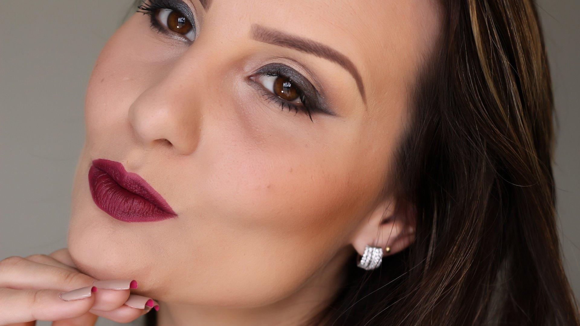 Batom Eudora Efeito Fosco/Mate Cabernet - Maquiagem & Cia