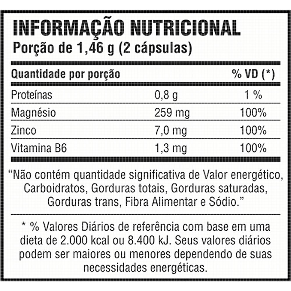 tabela nutricional zma power probiotica