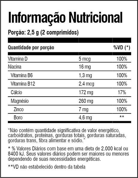 Tabela Nutricional Zeus Extreme